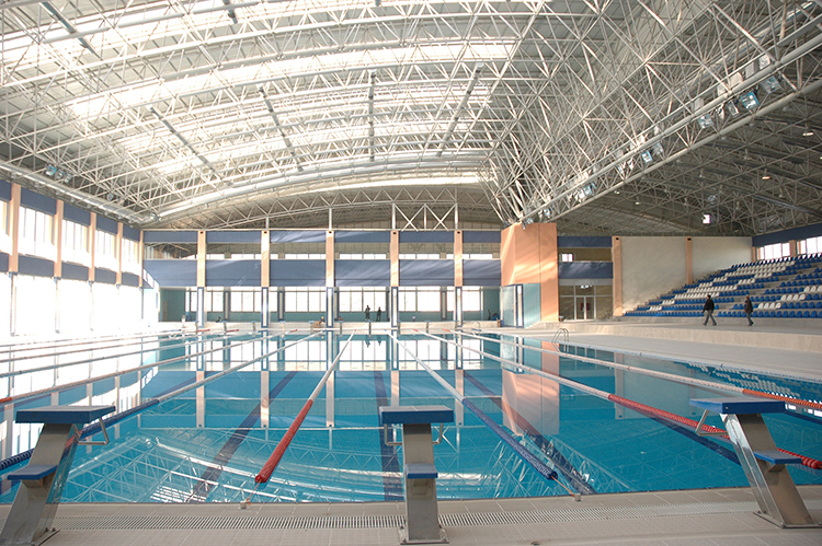 Pamukkale University Olympic Swimming Pool