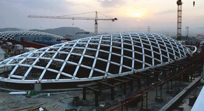 Al Rashid Shopping Center Roof Constructions